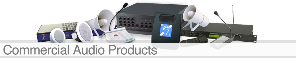 commercial audio products